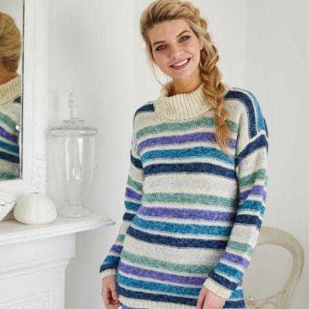 Cardigan and Sweater in Stylecraft Batik DK (9422)