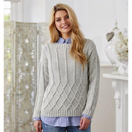 Sweater and Shawl in Stylecraft Batik DK (9423)