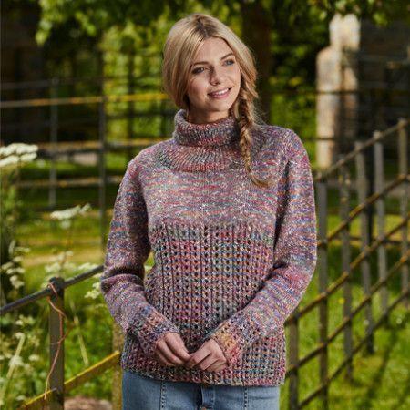 Cardigan and Sweater in Stylecraft Tweedy DK (9428)