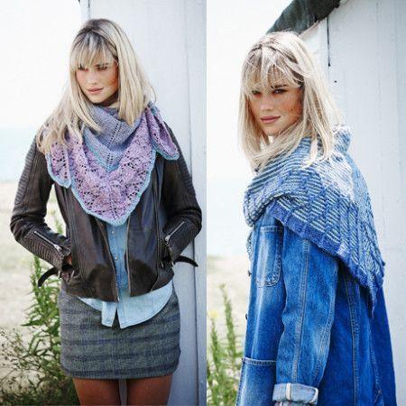 Shawls in Stylecraft Alpaca Tweed DK (9450)