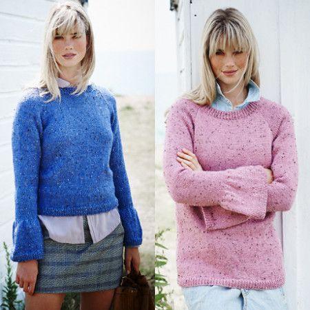 Sweaters in Stylecraft Alpaca Tweed DK (9453)