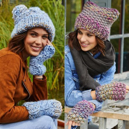 Mittens and Hats in Stylecraft Swift Knit Mega (9467)