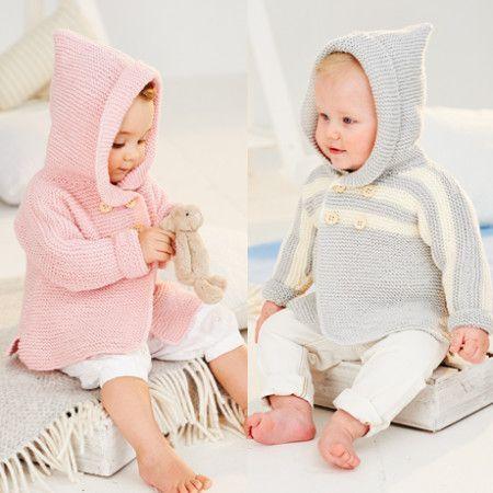 Coats in Stylecraft Bambino DK (9502)