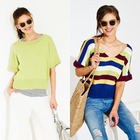 Tops in Stylecraft Classique Cotton DK (9518)