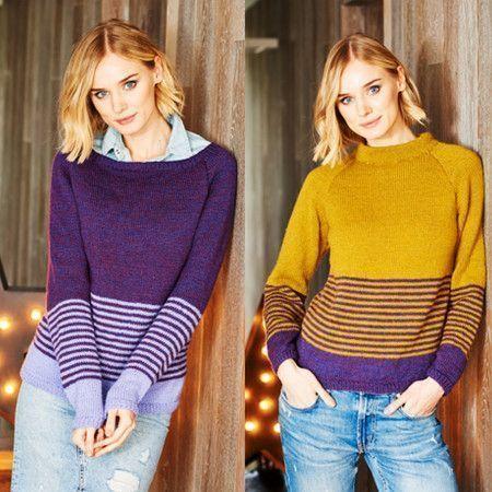 Sweaters in Stylecraft Life DK (9550)