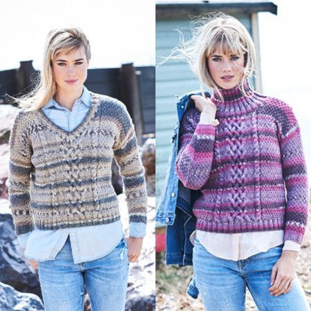 Sweaters in Stylecraft Life Heritage (9568)
