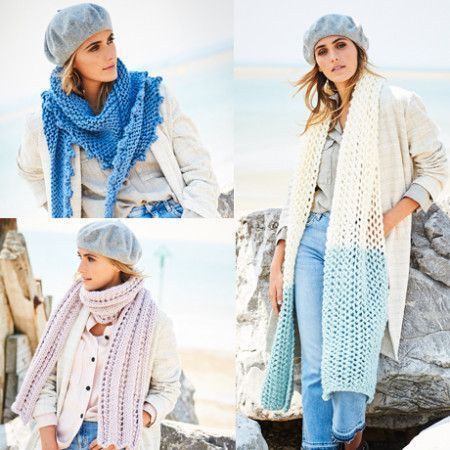 Scarves and Shawls in Stylecraft Special XL (9589)