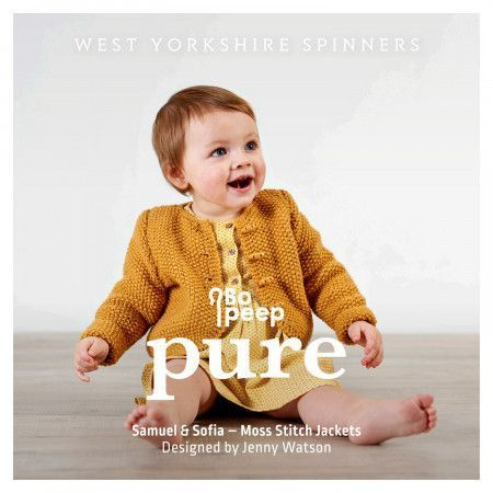Samuel and Sofia Jackets in West Yorkshire Spinners Bo Peep Pure DK (98003)