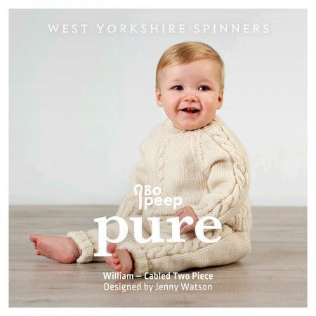 William Two Piece in West Yorkshire Spinners Bo Peep Pure DK (98005)