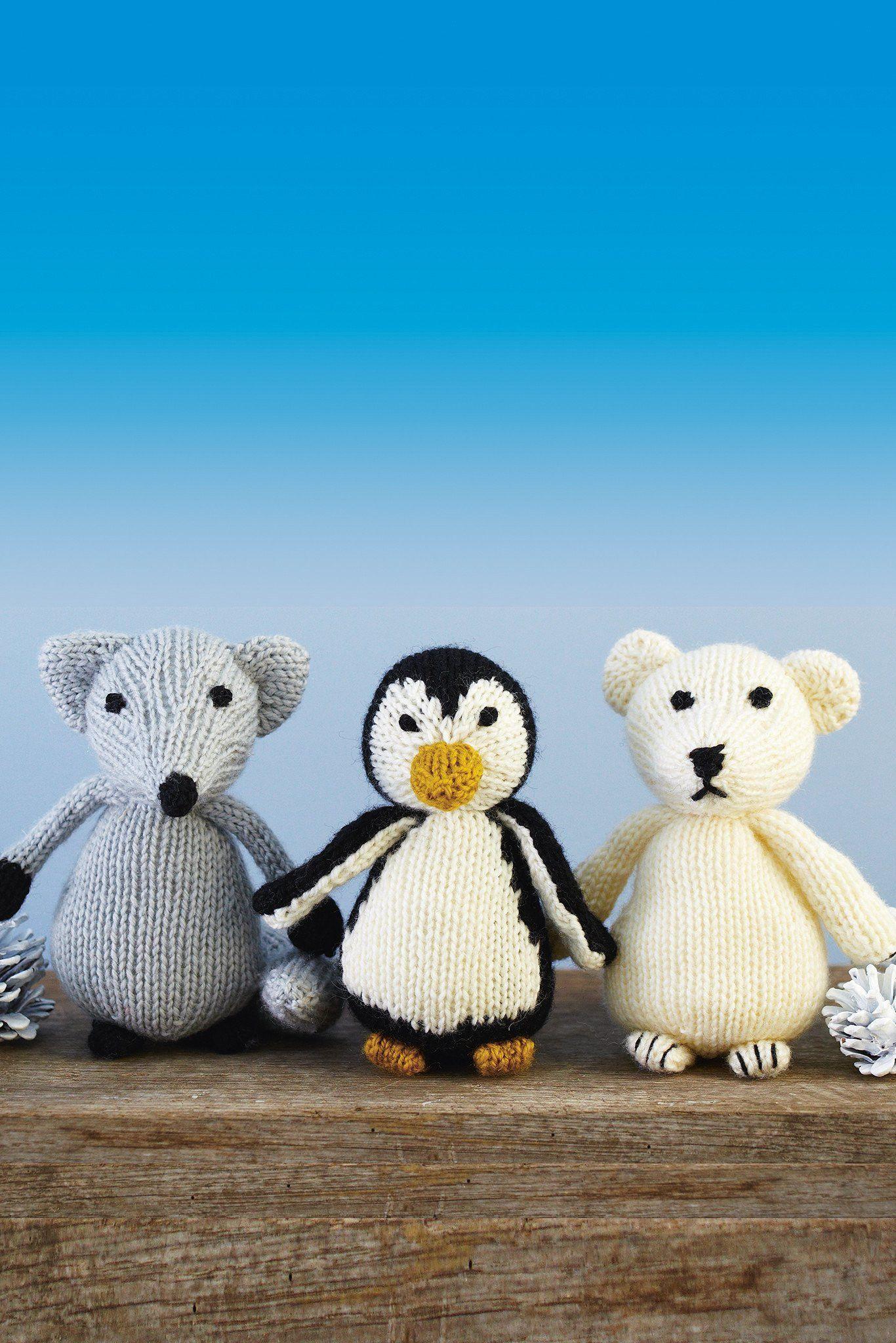 Arctic Animals Knitting Pattern   The Knitting Network