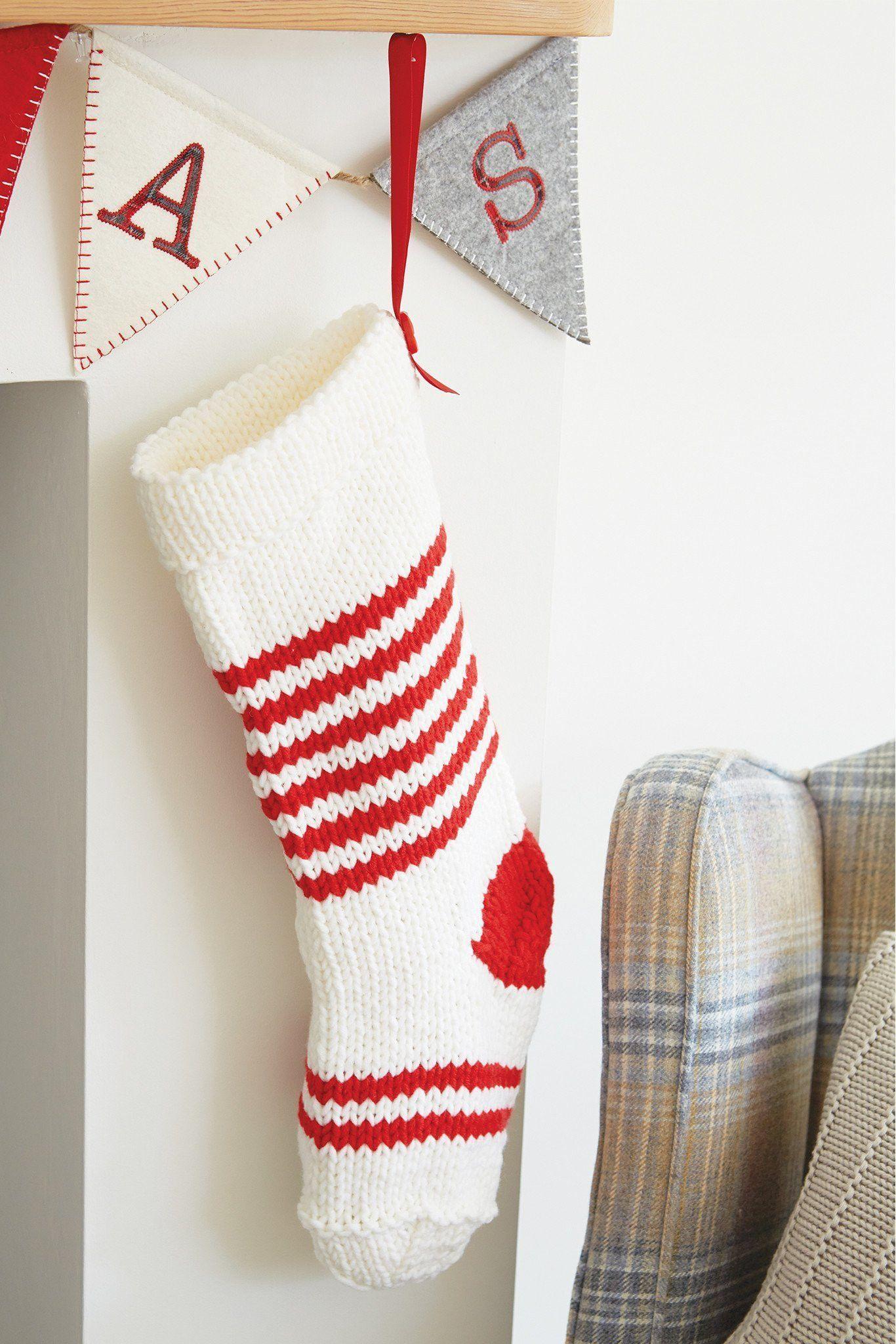 Christmas Stocking Knitting Patterns The Knitting Network