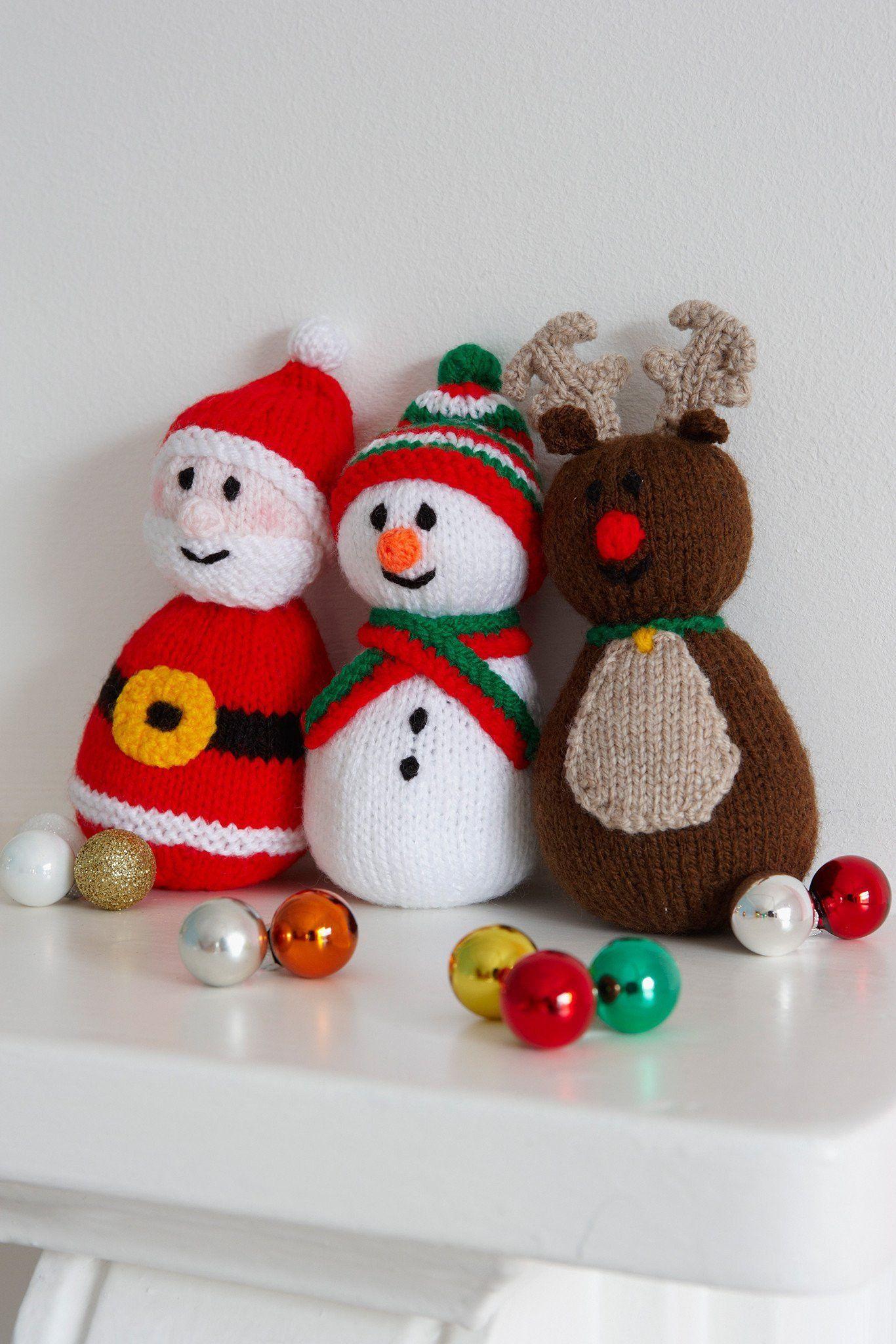Christmas Toys Knitting Patterns   The Knitting Network