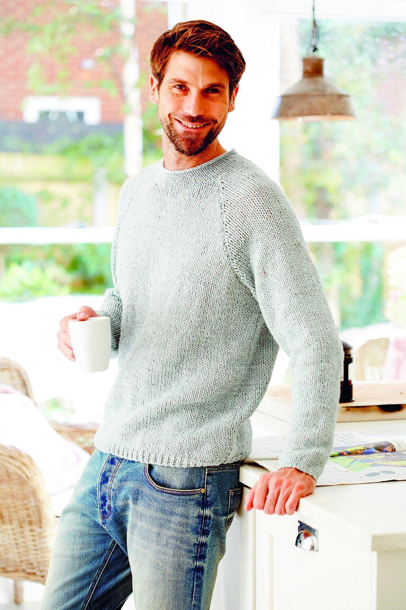 Chunky Mens Turtleneck Jumper Knitting Pattern | The ...