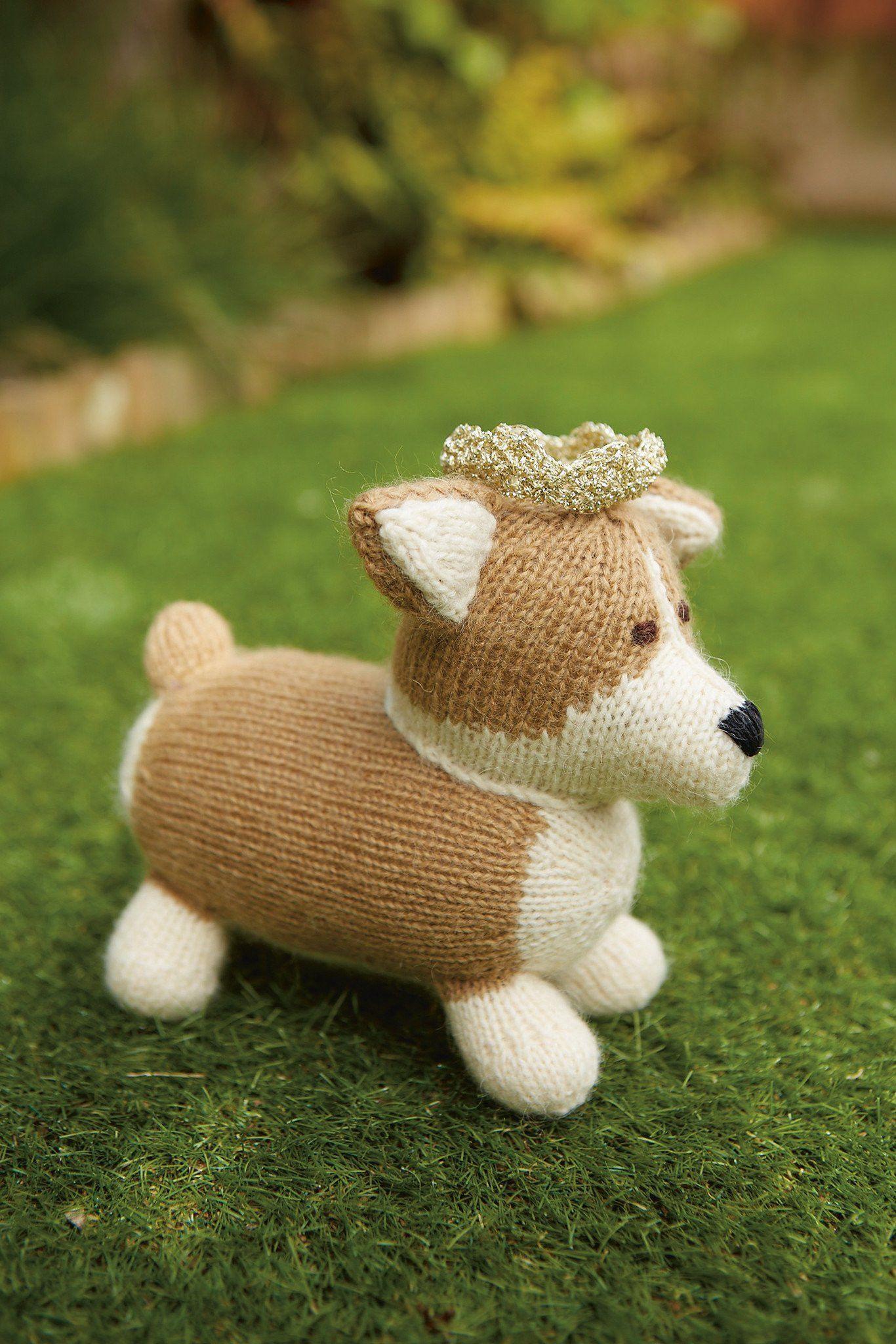 Corgi Dog Knitting Pattern | The Knitting Network