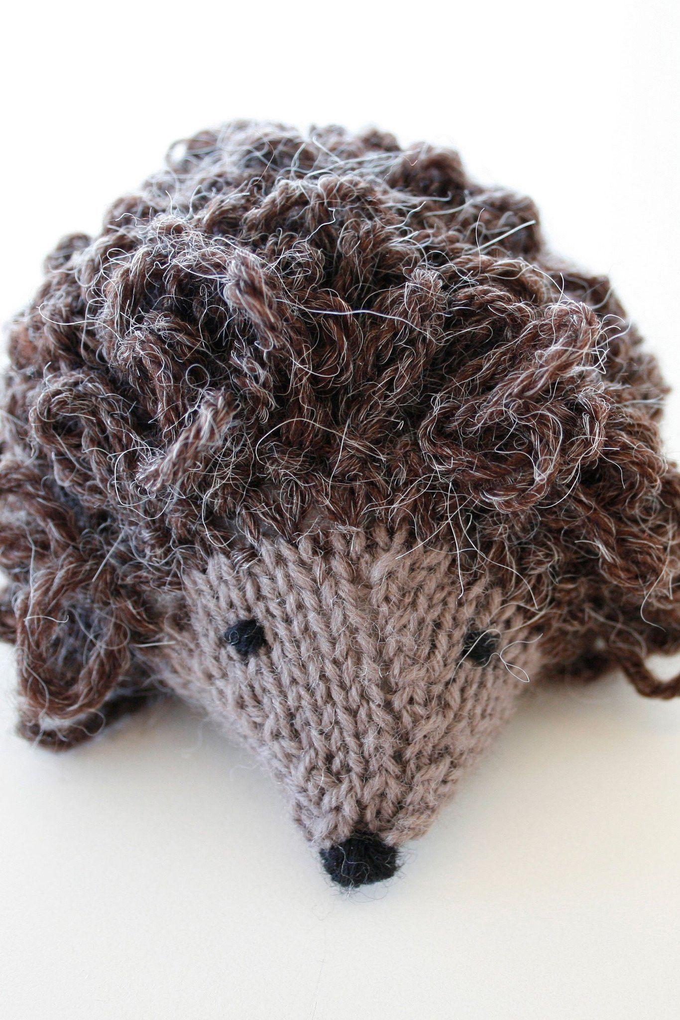 DK Hedgehog Toy Knitting Pattern | The Knitting Network