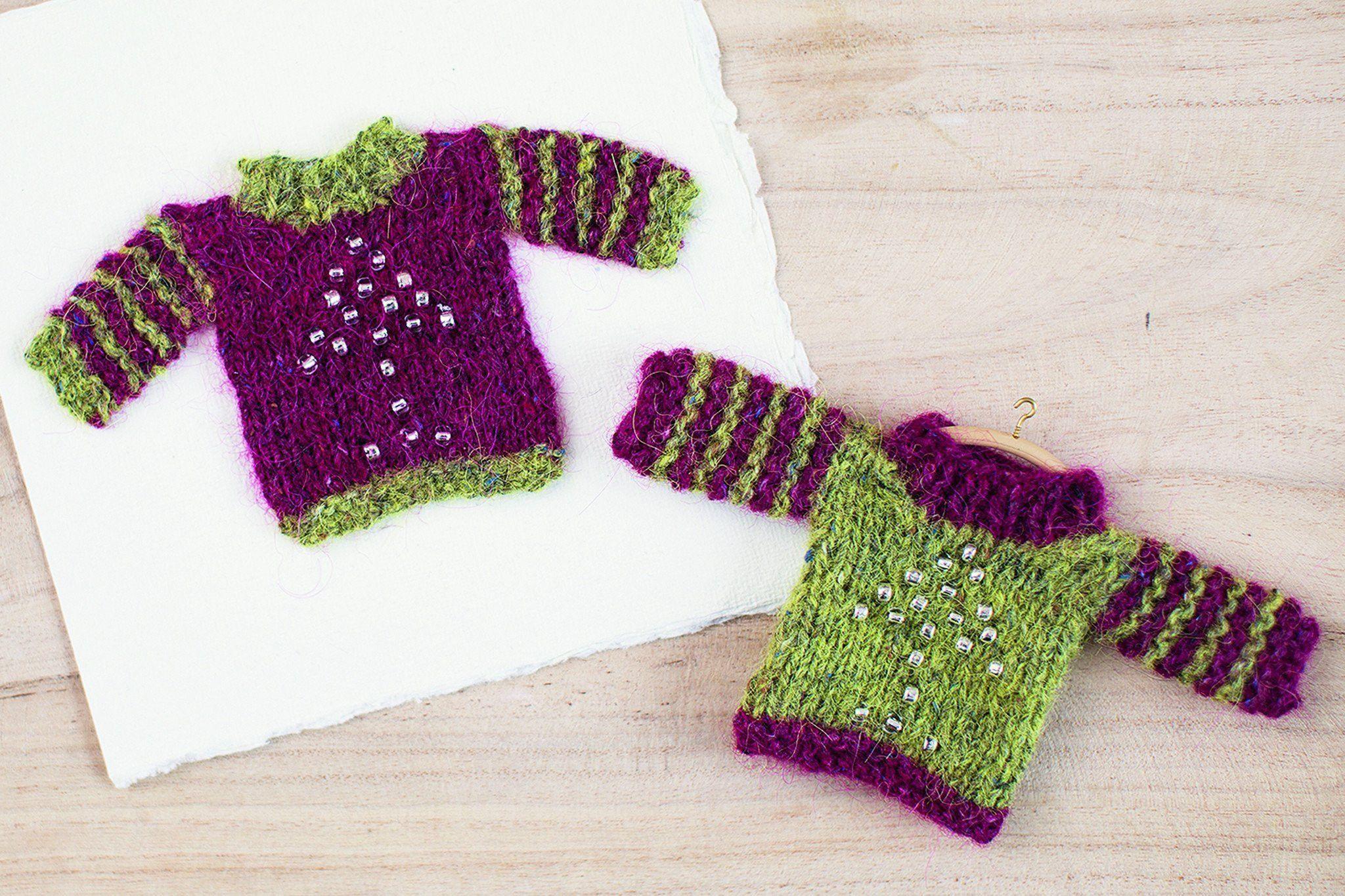 Mini Christmas Jumper Knitting Pattern   The Knitting Network