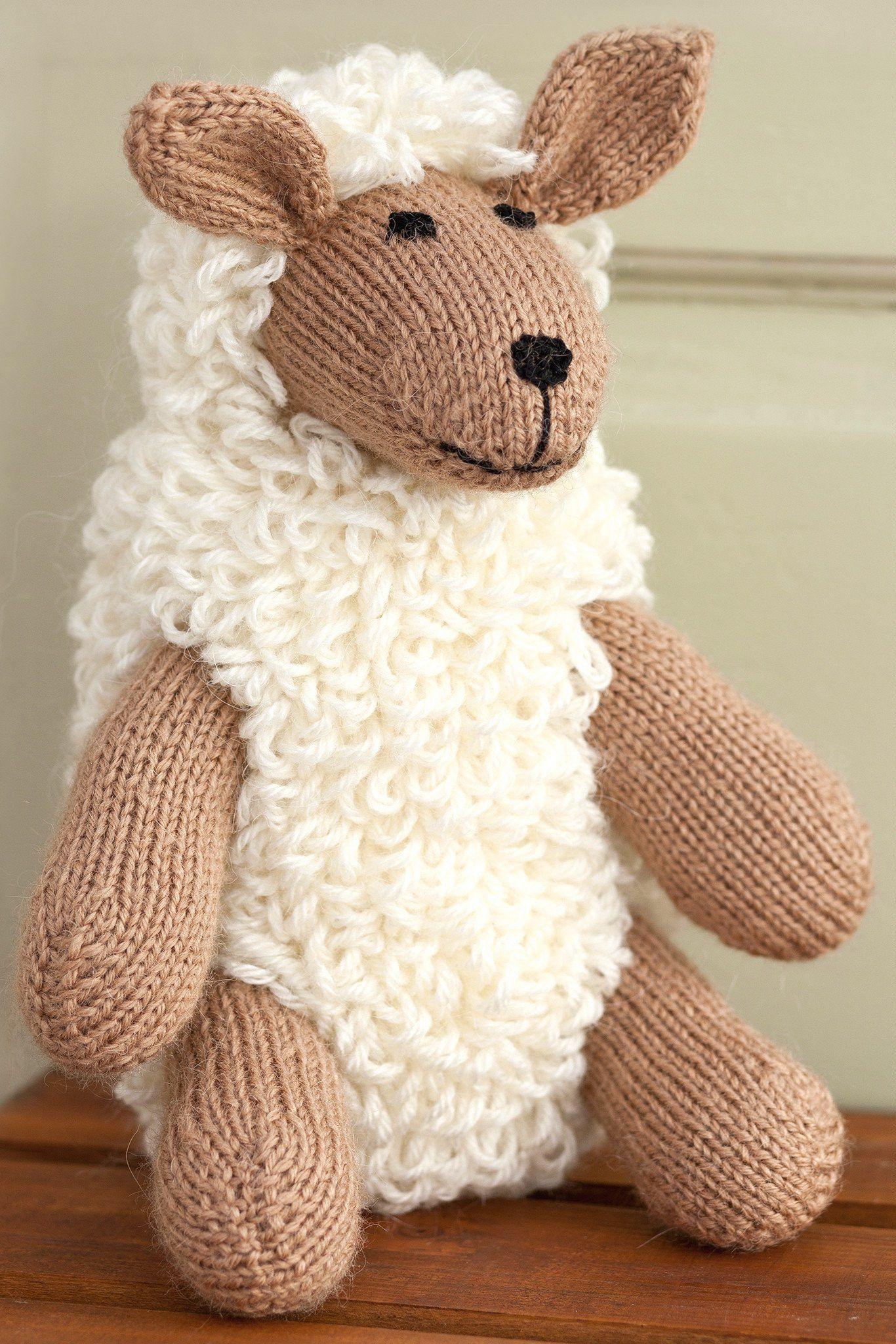 Sheep Toy Knitting Pattern   The Knitting Network