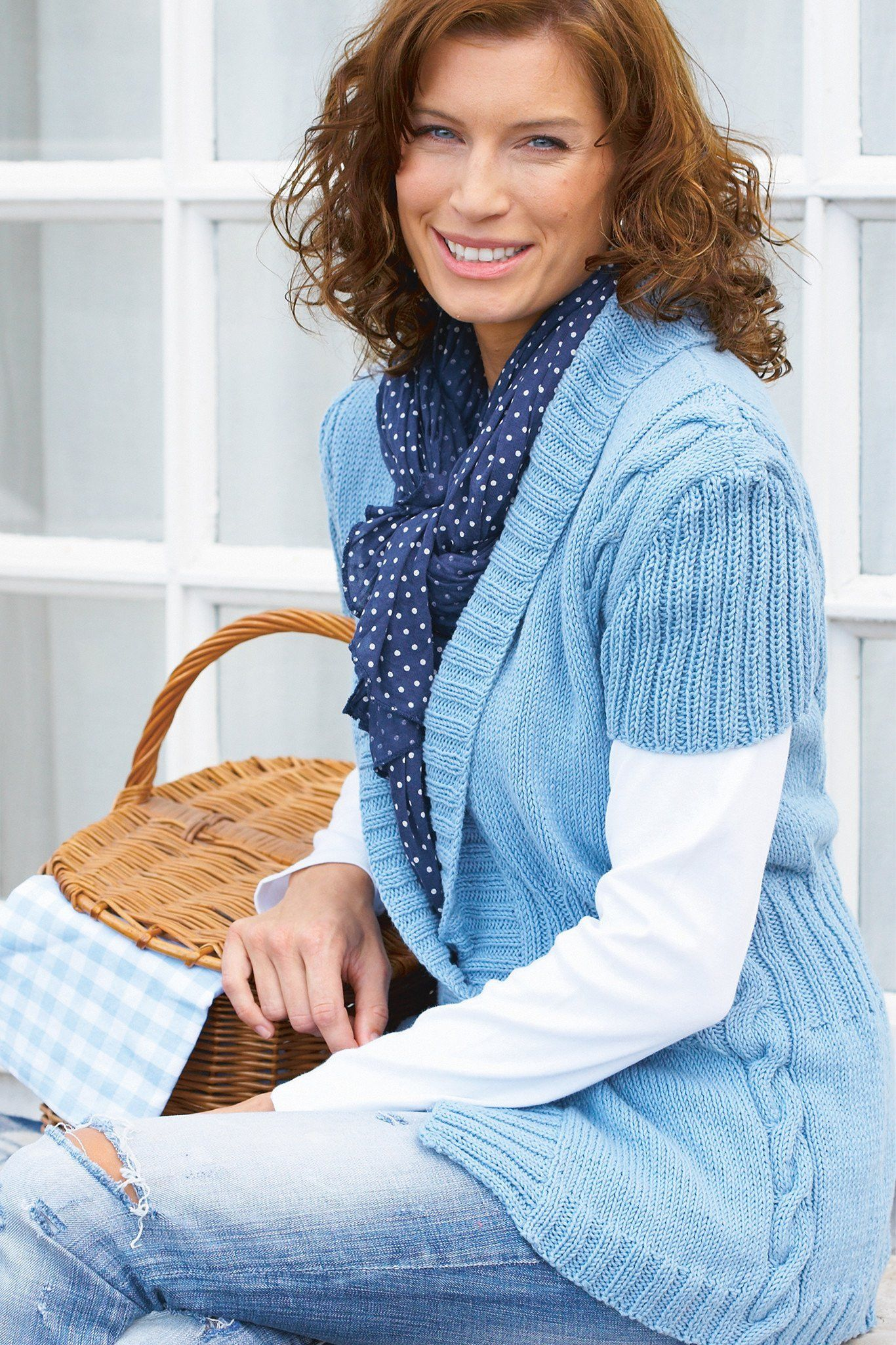 Short Sleeve Womens Cardigan Knitting Pattern | The ...