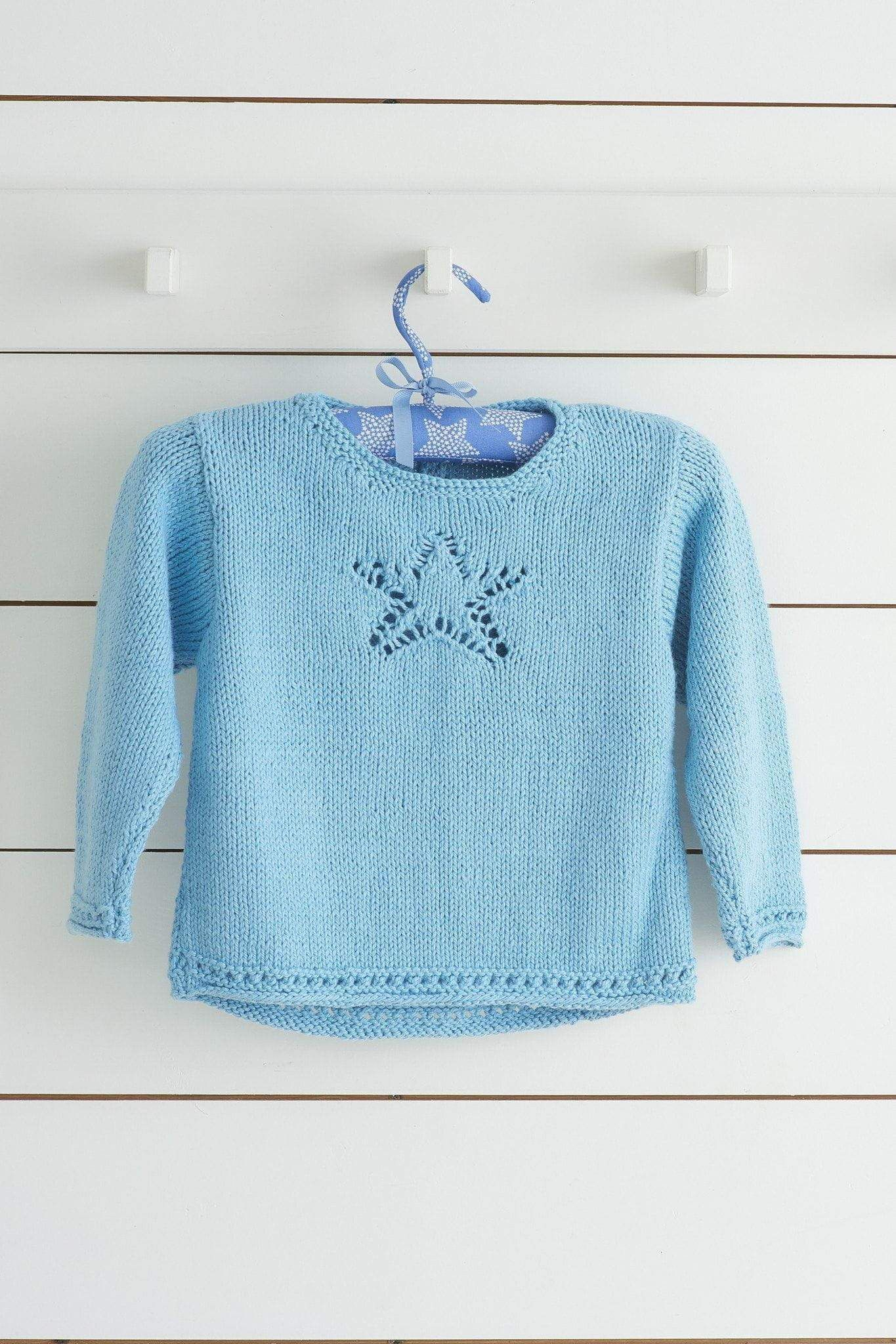 Lace Star Jumper Knitting Pattern   The Knitting Network