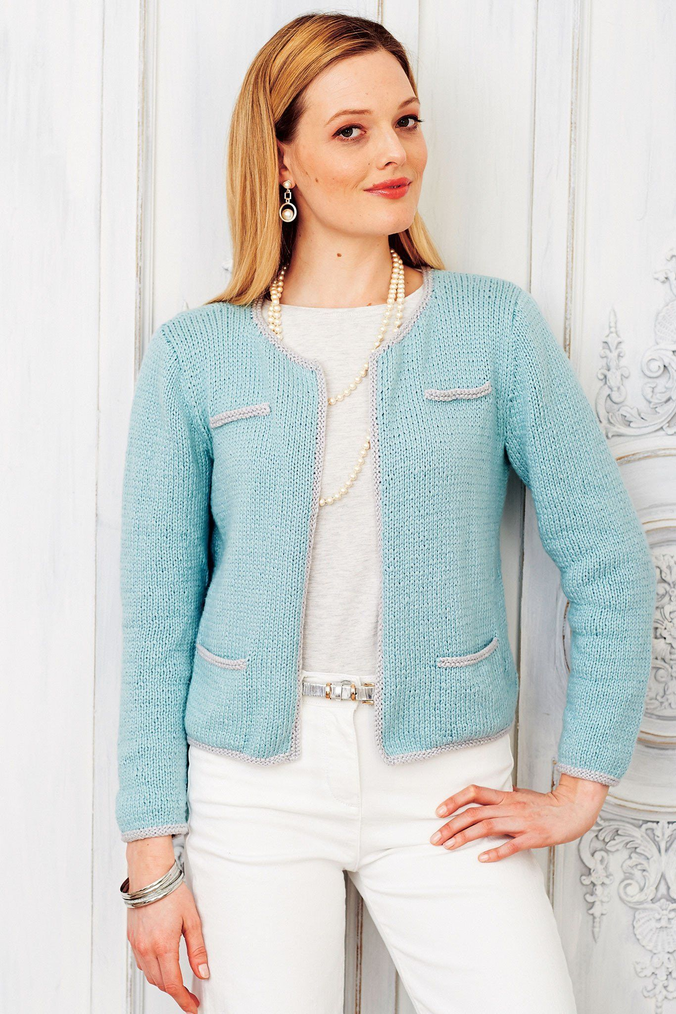 Vintage Smart Ladies Jacket Knitting Pattern | The ...