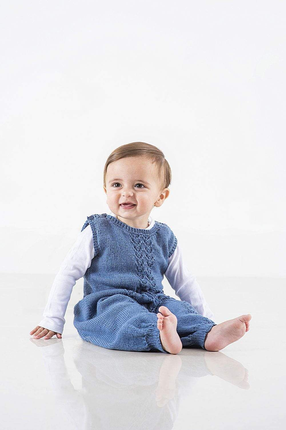 Baby Dungarees Knitting Pattern The Knitting Network
