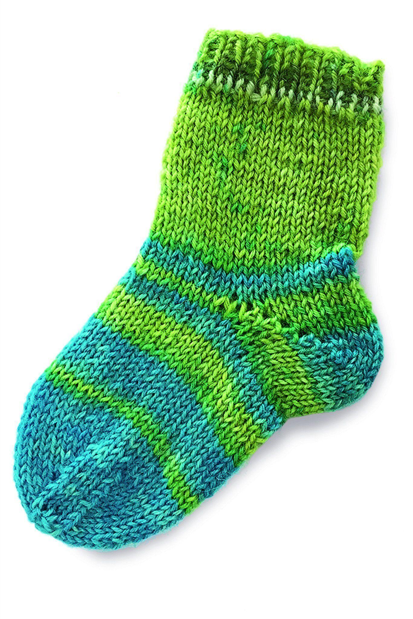 Baby Socks Knitting Pattern   The Knitting Network