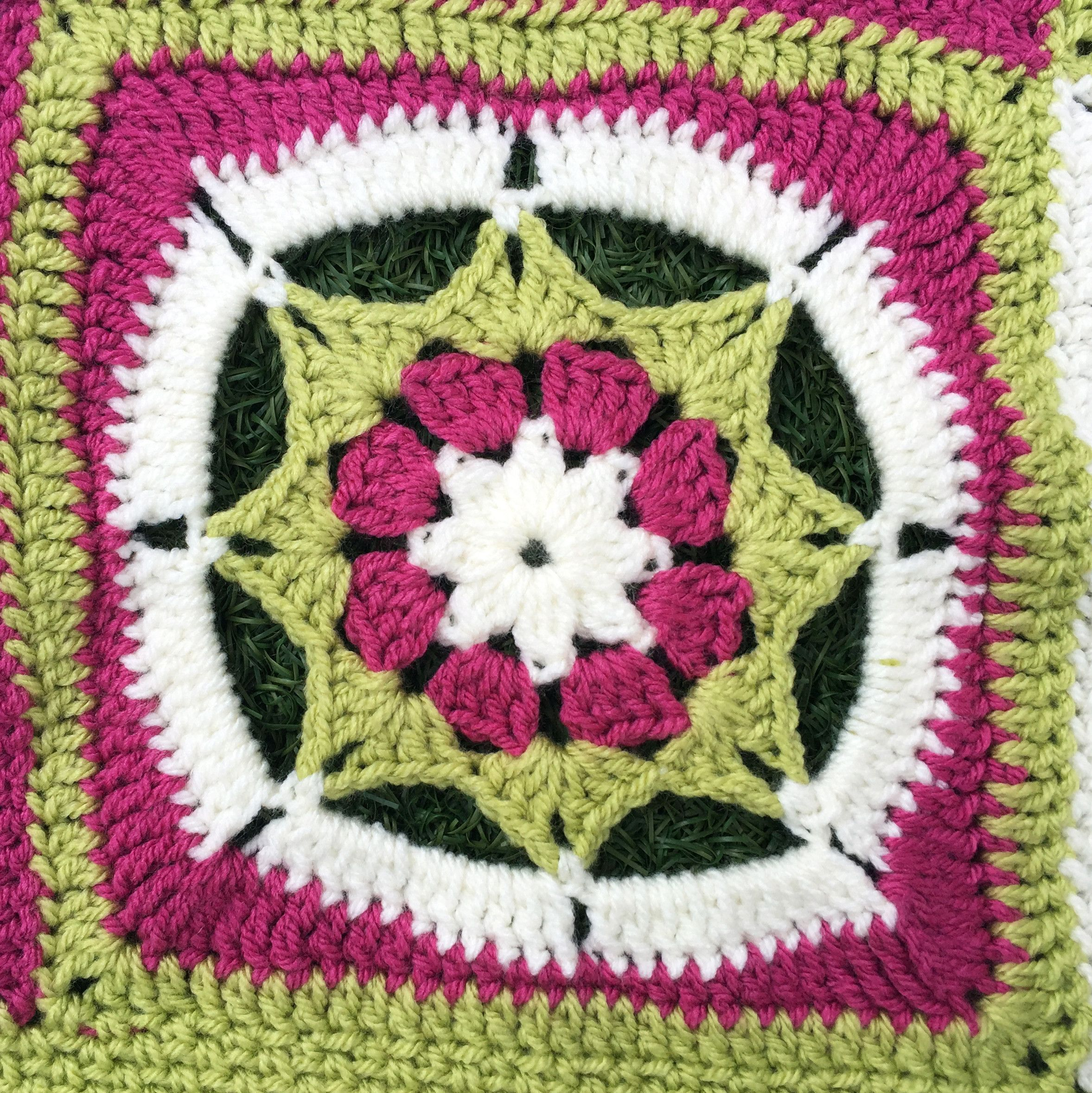 Wimbledon Blanket The Knitting Network