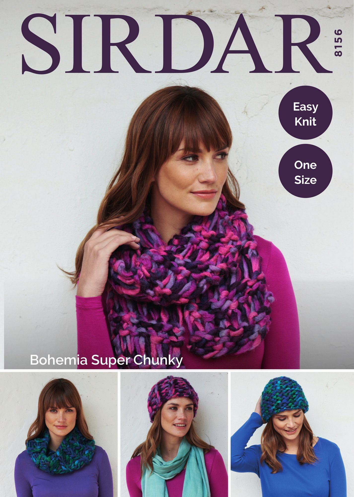 Accessories in Sirdar Bohemia Super Chunky (8156)