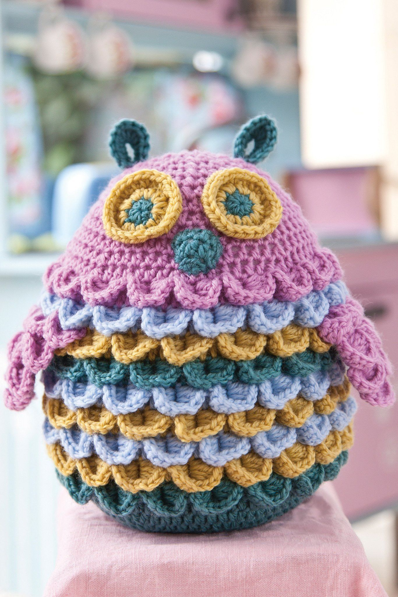 Toy Feathered Owl Make Crochet Pattern