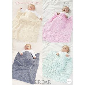 Blankets in Sirdar Snuggly DK (1362)
