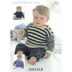 Sweater in Sirdar Snuggly DK (1811)