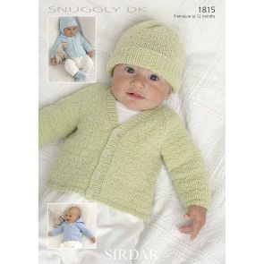 Cardigans, Hats, Mittens and Bootees in Sirdar Snuggly DK (1815)