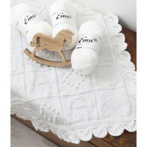 Emu ABC Blanket Bundle - White Colourway