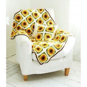Sunflower Blanket & Cushion Kit