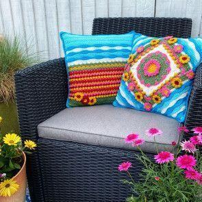 Coastal Flower Cushions Colour Pack (Kit)