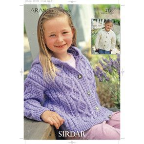 Jackets in Sirdar Hayfield Bonus Aran (2126)