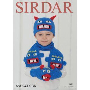 Accessories in Sirdar Snuggly DK (2471)