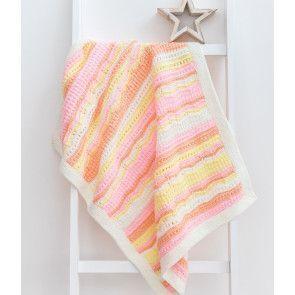 Little Star Baby Blanket - Pink Colourway