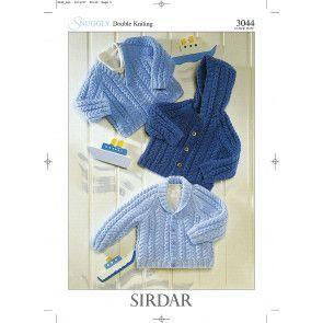 Jackets in Sirdar Snuggly DK (3044)