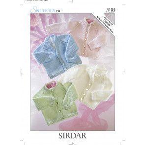 Cardigans in Sirdar Snuggly DK (3104)