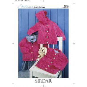 Cardigans in Sirdar Snuggly DK (3110)