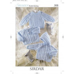 Cardigan, Jacket and Sweater in Sirdar DK (3898)