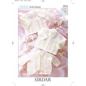 Matinee Coats In Sirdar Snuggly DK (3974)