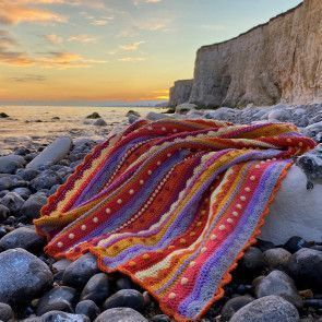 Late Summer Sunsets Blanket