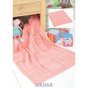 Blanket in Sirdar Snuggly DK (4528)