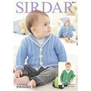 Cardigans in Sirdar Snuggly DK (4817)