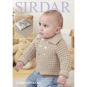 Jacket, Blanket, Helmet and Bootees in Sirdar Supersoft Aran (4828)