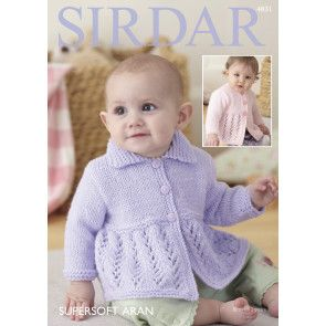 Cardigans in Sirdar Supersoft Aran (4831)