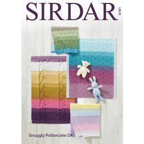 Blankets in Sirdar Snuggly Pattercake DK (5191)