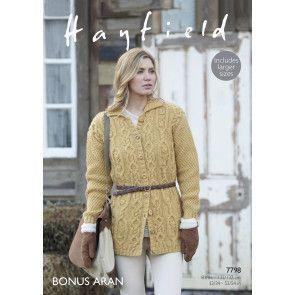 Coat in Hayfield Bonus Aran (7798)